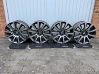 "4 x Genuine Range Rover 21"" Style 101 Diamond Turned Alloy Wheels"