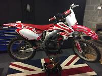Crf 450 2004 swap for van Vito dispatch relay transit or people carrier kxf rmz exc yz