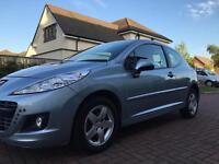 2011 Peugeot 207 1.4 Envy**ONLY 37000 MILES**MOT TILL APRIL 2018**