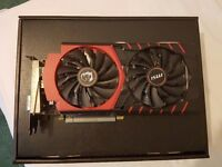 Nvidia MSI GTX 970 graphics card, perfect condition
