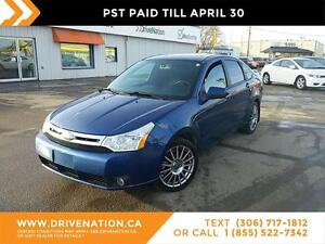 2009 Ford Focus SES GREAT ON GAS, LEATHER, BLUETOOTH!