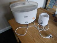 Tommee tippee bottle warmer and steriliser very good condition