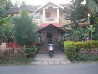 Apartment for rent at Goa