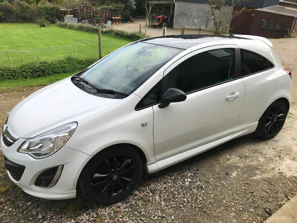 Vauxhall Corsa 2012 1.2 Limited Edition 3dr