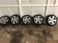 17 inch 307 hdi alloys wheels