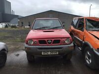 1996 2.0 Diesel, Nissan Terrano II TDI S, Breaking for parts only. Postage Nationwide.