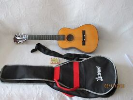 Lauran Acoustic 30in Guitar 6 String Natural Wood Colour