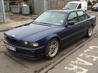 BMW 740i 4.4 V8 - SPARES OR REPAIRS - WORTH MORE IN PARTS