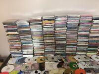approx 400 music cds various genres plus freebies