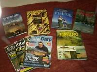 Fishing books / magazines