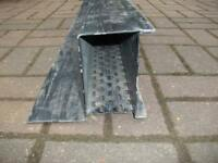 CATNIC STEEL BOX LINTLE ..2.4M LONG ..USED