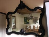 French style mirror also in gold