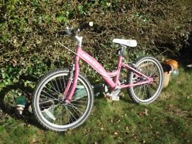 Girls Pink Bicycle - Claud Butler Blossom