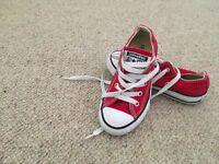 kids unisex converse trainers uk size 11