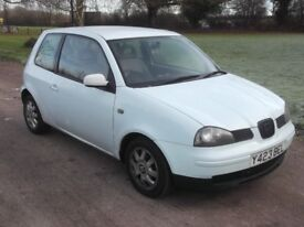 2001 SEAT AROSA 1.0, MOT SEPTEMBER 2018, SAME AS LUPO, ONLY £395
