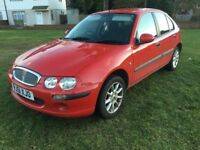 2002 ROVER 25 1.4 WITH ONLY 65,000 genuine MILES,dual controls fitted,like ford vauxhall seat vw