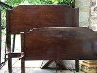 Antique rosewood bedframe