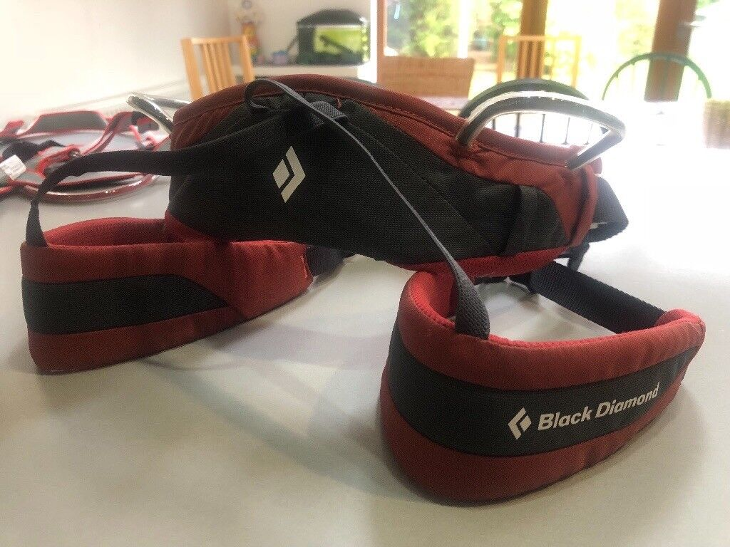 Black Diamond Wiz Kid climbing Harness Deep Torch | in Alsager,  Staffordshire | Gumtree