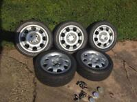 Peugeot 205 gti wheels and tyres