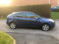 Ford Focus Titanium 1.6. Two owners from new, well maintained. Full MoT
