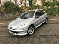 2006 PEUGEOT 206 1.4 VERVE 3 DOOR ** ONLY 65,000 MILES - FULL SERVICE HISTORY **