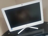 HP WHITE ALL IN ONE PC / COMPUTER IN MINT CONDITION OTO
