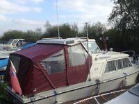 Canal river cruiser Birchwood 22 diesel inboard +eberspacher