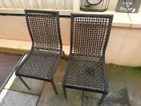 Ikea 6 Garden Chairs