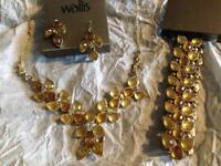 Costume jewellery brand new from Wallis