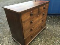 Vintage large chest of drawers