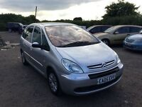 2005 CITREON Picasso DIesel full service history family car long mot very economical px welcome