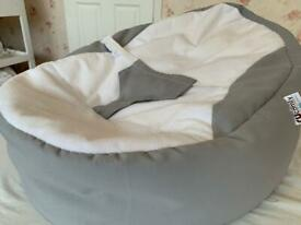 **BABY BEAN BAG** WITH SAFE STRAP £50 new