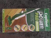 Power pad decking