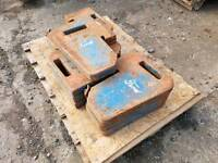 Ford tractor weights x 10