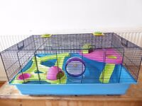 De Luxe Hamster Heaven Metro Cage, 80x50x50 cm by Savic & accessories perfect for Syrian hamsters