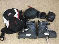 Razor G7.4 inline roller skates kit