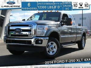 2014 Ford F-250 XLT**4X4*6 PLACES*CAMERA*BLUETOOTH*CRUISE*A/C**
