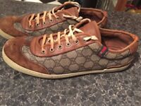 GUCCI trainers was £500 only £50!!!! size 9.5-10