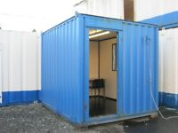 10ft x 8ft Anti Vandal Portable Cabin LIGHTS & HEATING site office shipping container