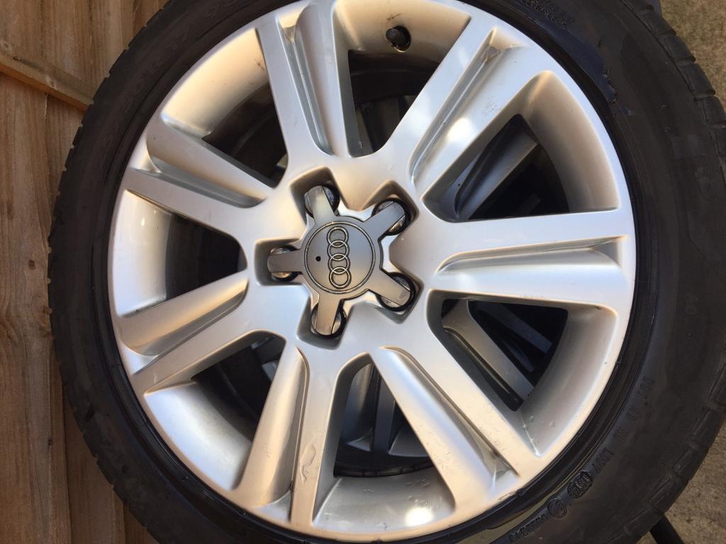 "Audi 17"" Alloy Wheels *urgent sale*"