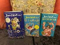 3 DAVID WALLIAMS BOOKS