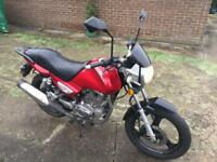 NOW SOLD!!!!!!!!!!! Zontes Monster 125cc SPARES or REPAIR