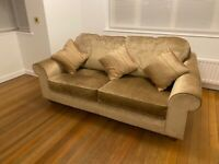 Collins and Hayes 2 1/2 seater sofa