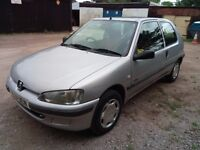 Peugeot 106 Diesel MOT late september. Used daily but selling as spares or repairs Power steering