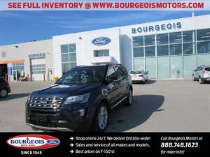 2016 Ford Explorer XLT 4WD TWIN PANEL MOONROOF SYNC