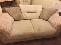 2 and 3 seater sofa, was £1200