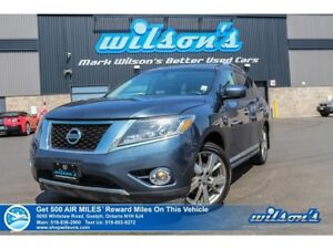 2015 Nissan Pathfinder Platinum | AWD | 7PASS | NAVIGATION | DVD