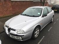 2001 Alfa 156 Selesspeed MOT TAX LOW MILES PERFECT DRIVE LEATHER