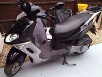 Moped/ scooter 125cc sumup black