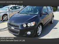 2014 Chevrolet Sonic TOIT/CAMERA ARRIERE/SIEGES CHAUFFANTS